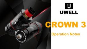 Uwell Crown 3 Sub Ohm Tank best quality