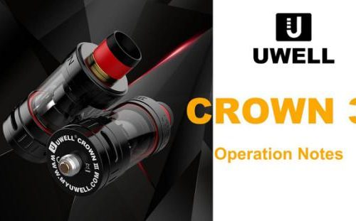 Uwell Crown 3 Sub Ohm Tank Preview