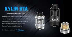 Vandyvape Kylin RTA for sale now