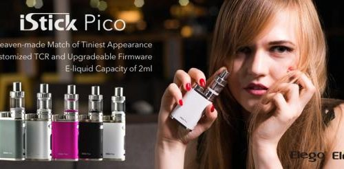 New Colors For Eleaf Istick Pico Kit For Your Preference