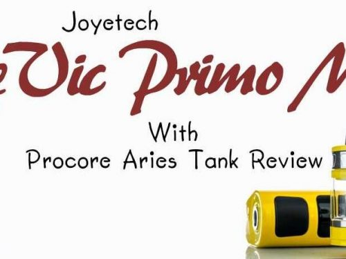 Joyetech eVic Primo Mini with ProCore Aries Atomizer Review and Deals