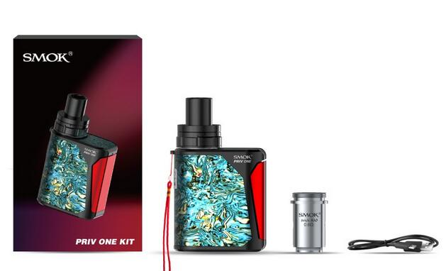 smok priv one kit package