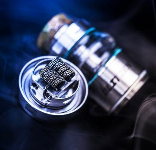 Large clapton wires on Blitzen RTA
